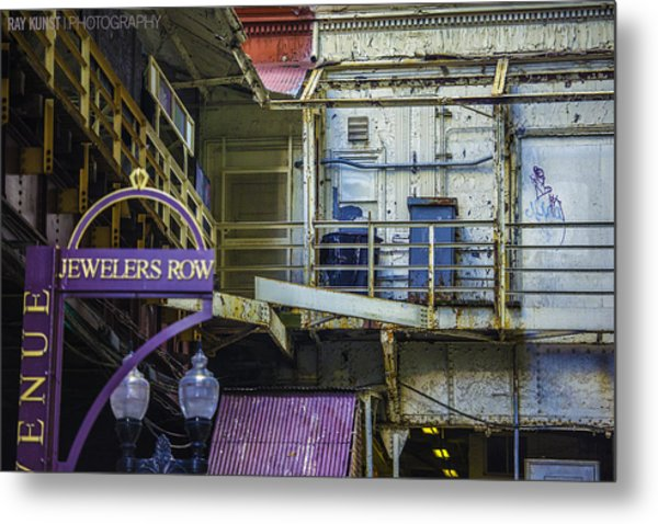 Jewelers Row Metal Print