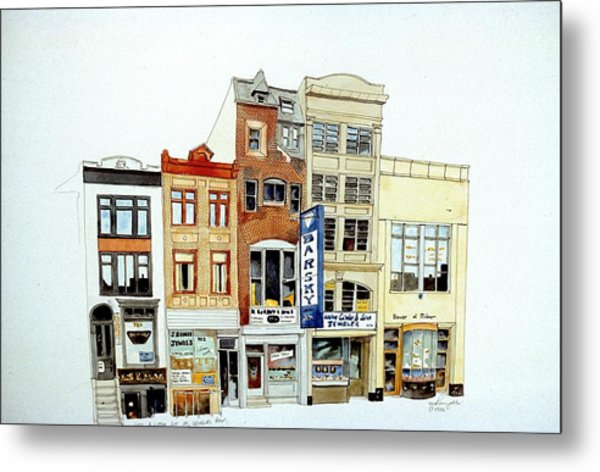 Jeweler's Row Metal Print