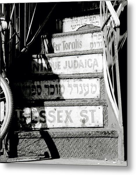 Jewish New York Metal Print