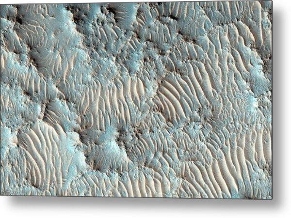 Jezero Crater Metal Print