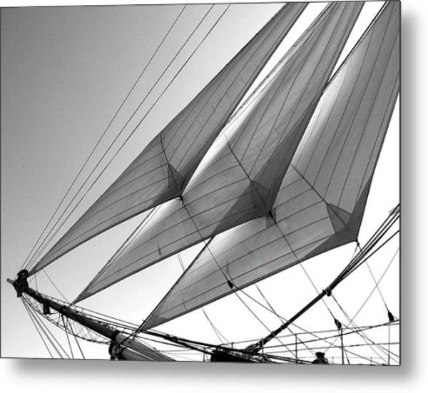 Jib Sails Metal Print