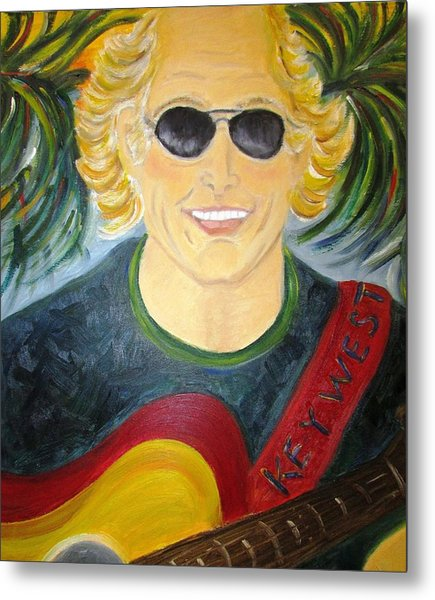 Jimmy Buffet Metal Print