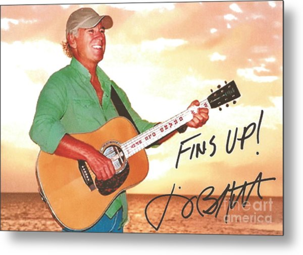 Jimmy Buffett Sunset With The Grand Old Opry  Metal Print