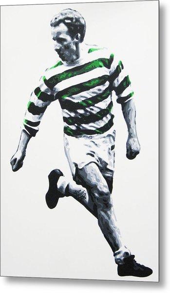 Jimmy Johnstone - Celtic Fc Metal Print