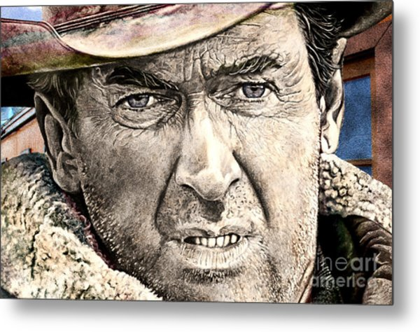 Jimmy Stewart  Metal Print