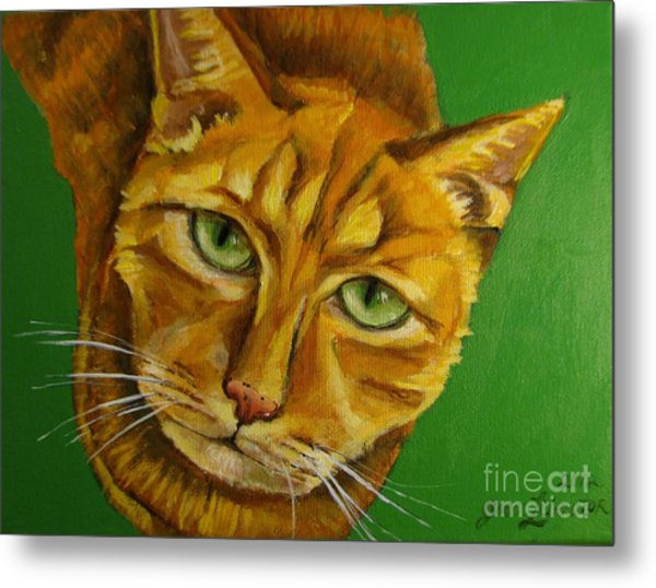Jing Jing - Cat Metal Print