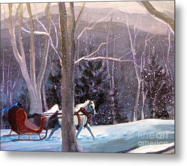 Jingle Bells 3 Metal Print