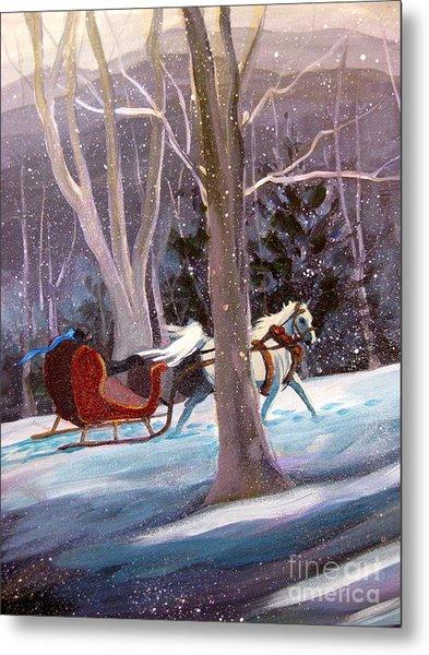 Jingle Bells A Metal Print