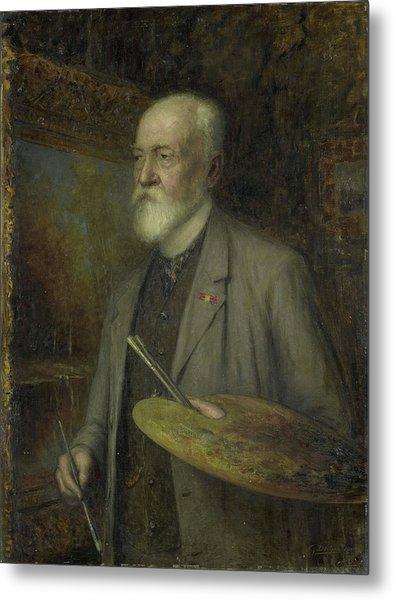 Johannes Gijsbert Vogel 1828-1915 Metal Print by Litz Collection