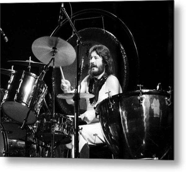 John Bonham 1977 Led Zeppelin Metal Print