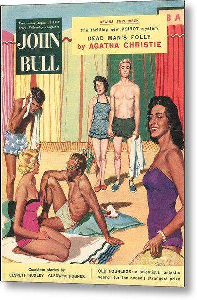 John Bull 1950s Uk Holidays Suntans Metal Print by The Advertising Archives