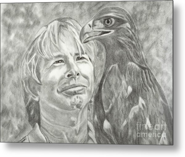 John Denver And Friend Metal Print