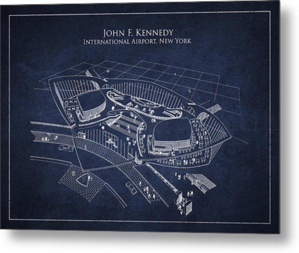 John F Kennedy International Airport Metal Print