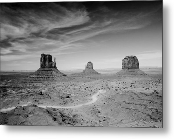 John Ford View Of Monument Valley Metal Print