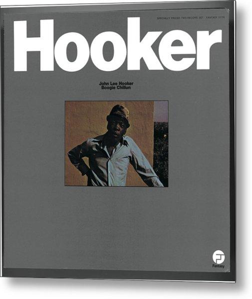 John Lee Hooker -  Boogie Chillun Metal Print
