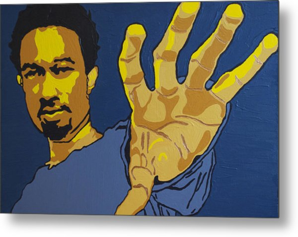 John Legend Metal Print