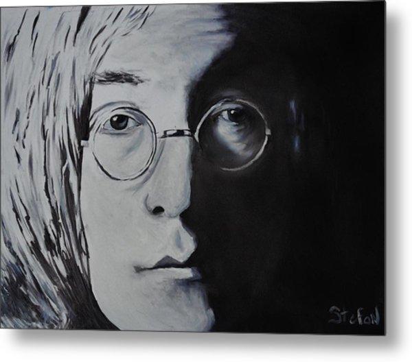 John Lennon Metal Print by Stefon Marc Brown