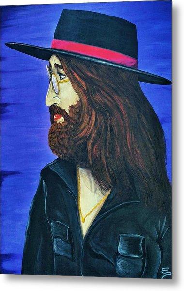 John Lennon  Tittenhurst Park Metal Print