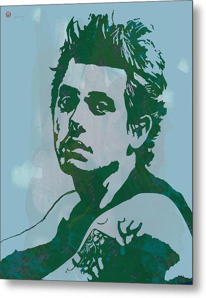 John Mayer - Pop Stylised Art Sketch Poster Metal Print