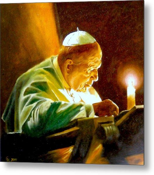 John Paul II Metal Print