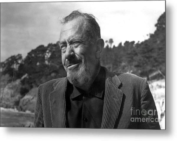 John Steinbeck Pebble Beach, Monterey, California 1960 Metal Print