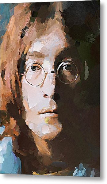 John The Beatles Metal Print
