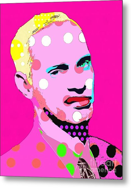 John Waters Metal Print by Ricky Sencion