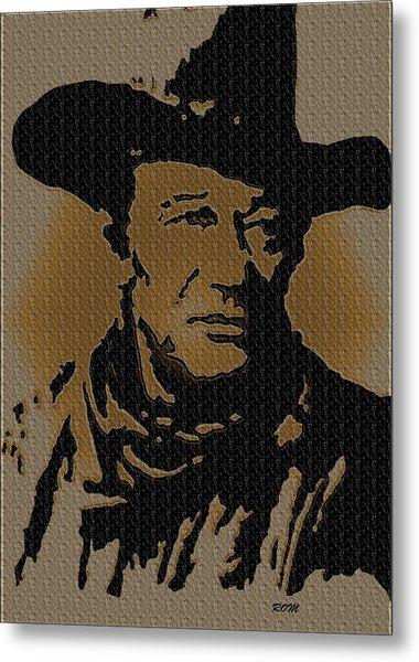 John Wayne Lives Metal Print