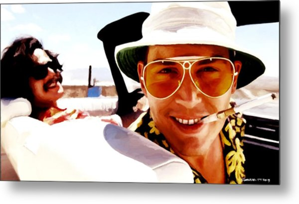 Johnny Depp @ Fear And Loathing In Las Vegas Metal Print