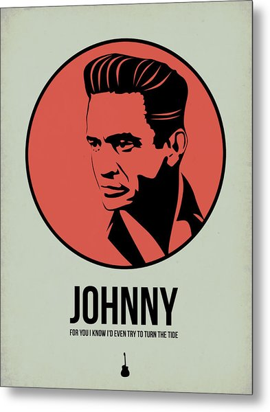 Johnny Poster 2 Metal Print
