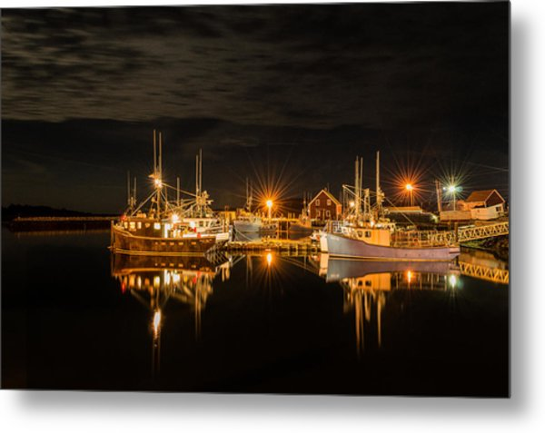 John's Cove Reflections Metal Print