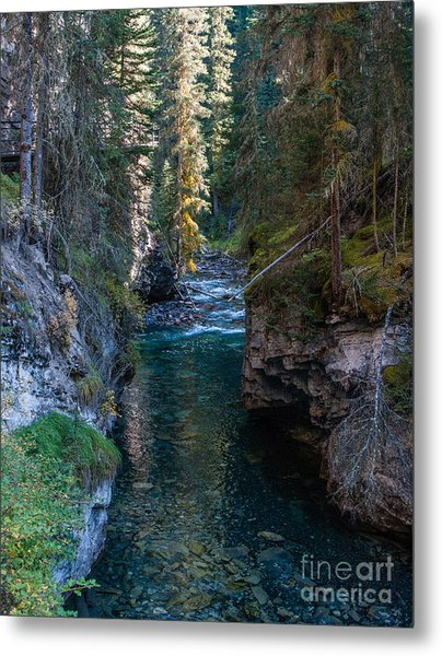 Johnson Falls Canada 2.0536  Metal Print by Stephen Parker