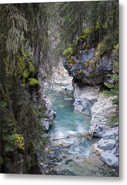 Johnsons Canyon Metal Print