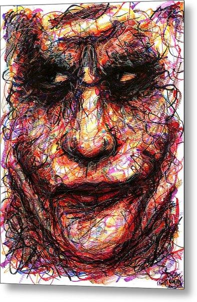 Joker - Face II Metal Print