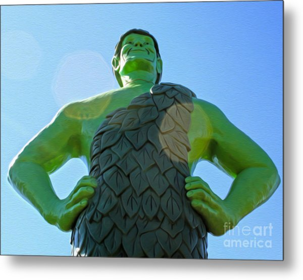 Jolly Green Giant - 02 Metal Print