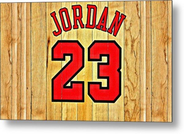 Jordan 23 Poster Metal Print