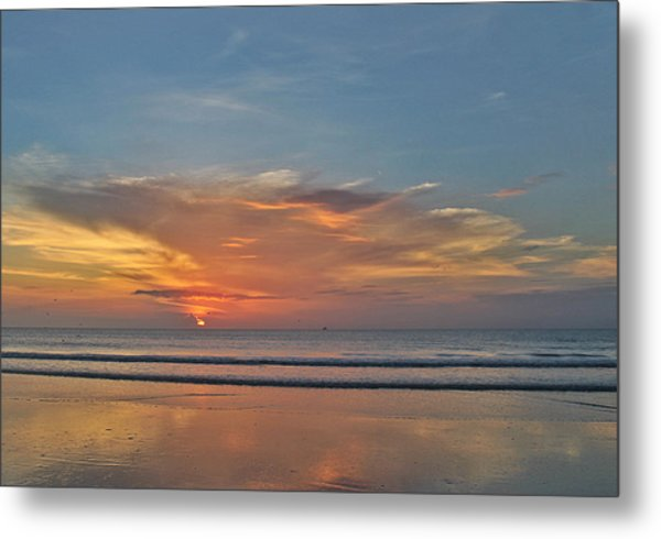 Jordan's First Sunrise Metal Print