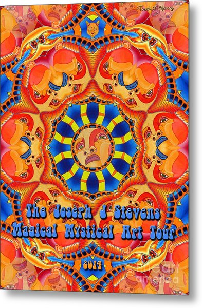 Joseph J Stevens Magical Mystical Art Tour 2014 Metal Print