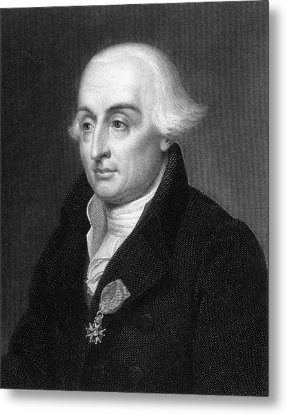 Joseph Louis Lagrange  French Scientist Metal Print by Mary Evans Picture Library