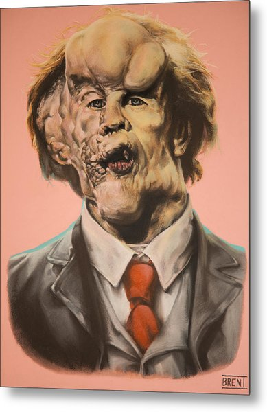 Joseph Merrick The Elephant Man Metal Print