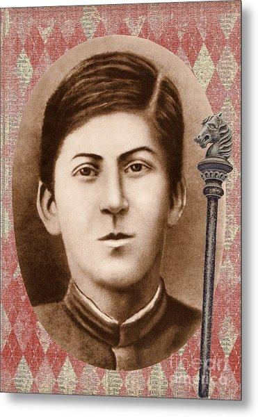 Joseph Stalin 14 Years Old Metal Print
