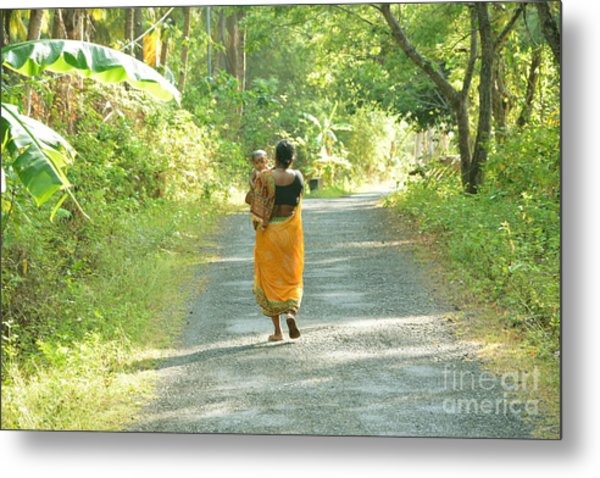 Journey Of Life  Metal Print by Bobby Mandal