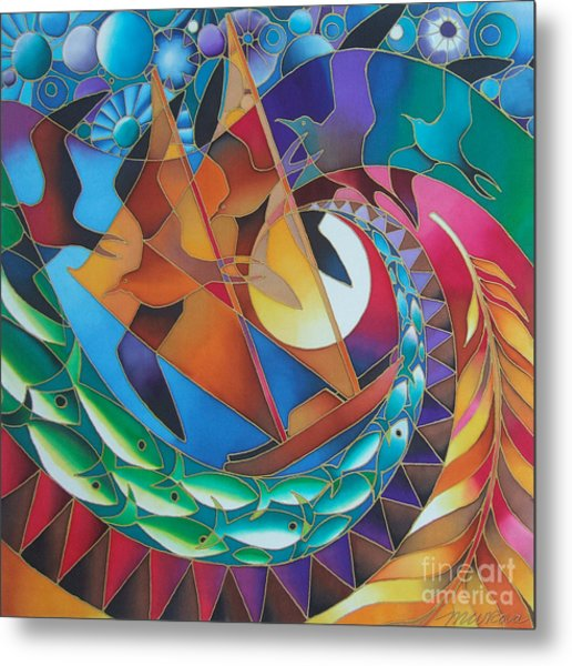 Journey Of The Vaka IIi Metal Print