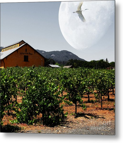 Journey Through The Valley Of The Moon 5d24485 Square Metal Print by Wingsdomain Art and Photography