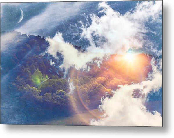 Journey To Another Dimension Metal Print