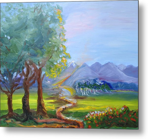 Journey With God  Metal Print by Patricia Kimsey Bollinger