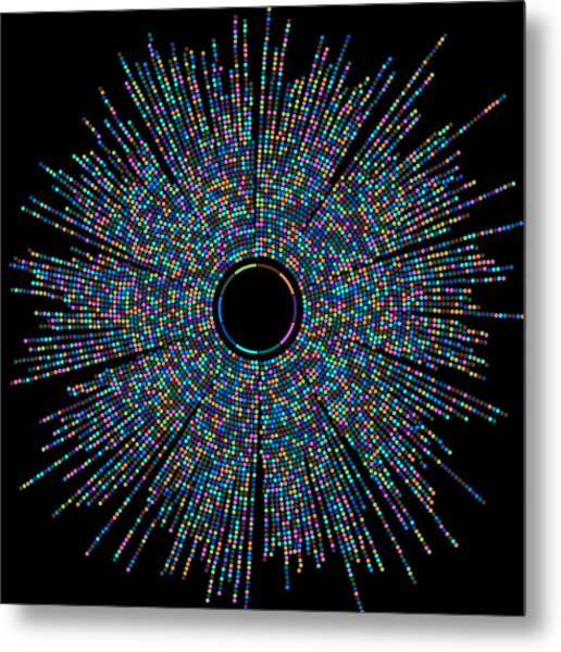 Joy Of Bubbles Metal Print by Cristian Ilies Vasile