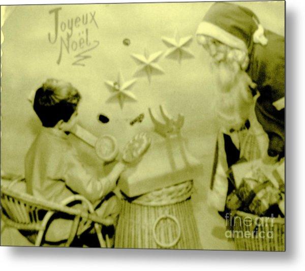 Joyeux Noel - Merry Christmas - Ile De La Reunion - Indian Ocean Metal Print by Francoise Leandre