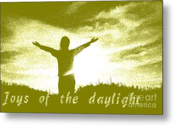 Joys Of The Daylight Metal Print