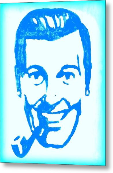 J.r. Bob Dobbs Pop Art Church Subgenius Metal Print